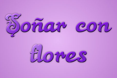 sonar con flores
