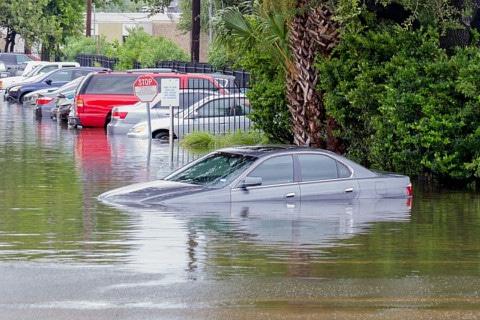 sone con inundaciones significado