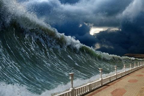 sone con tsunami significado
