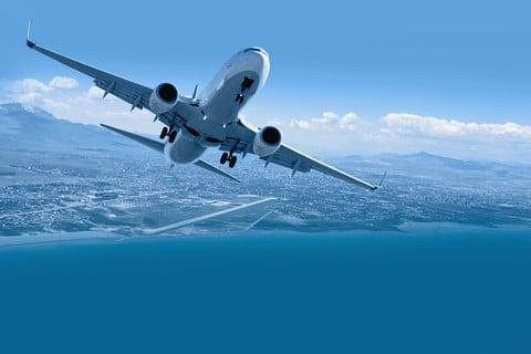 sone con un avion significado