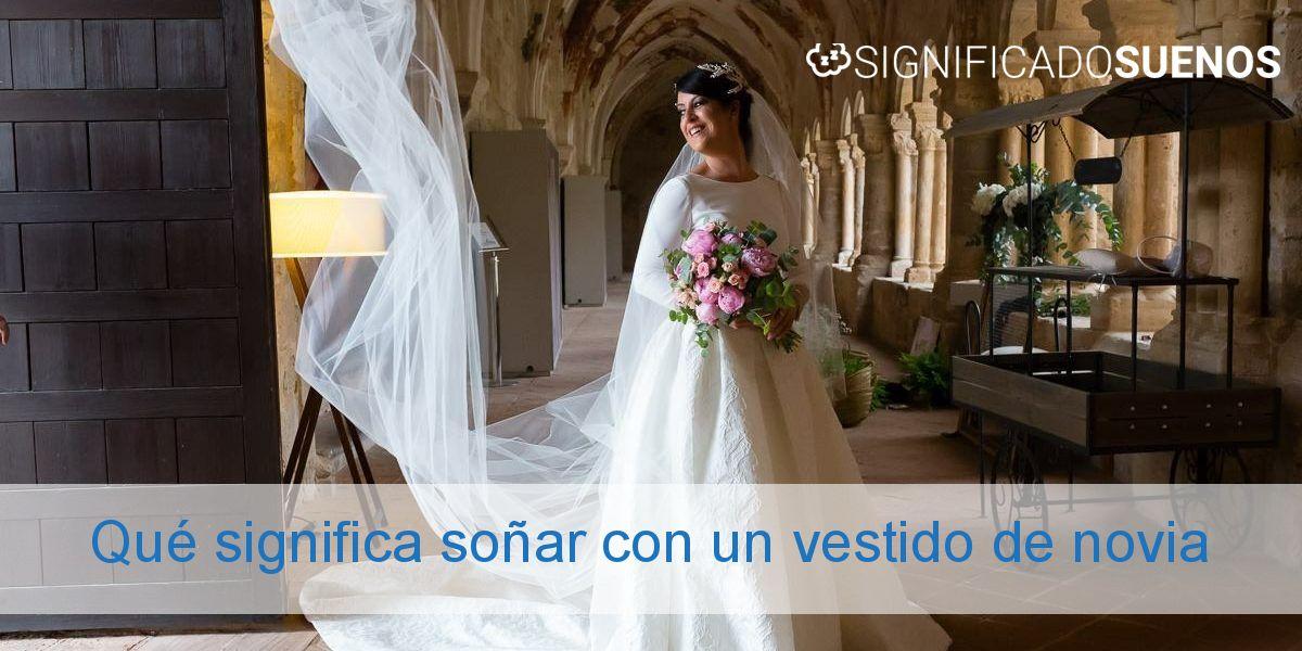 Qué significa soñar con un vestido de novia