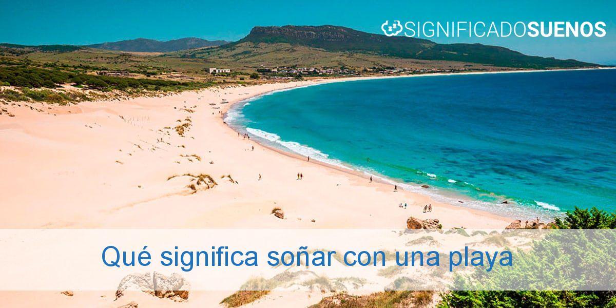 Qué significa soñar con una playa