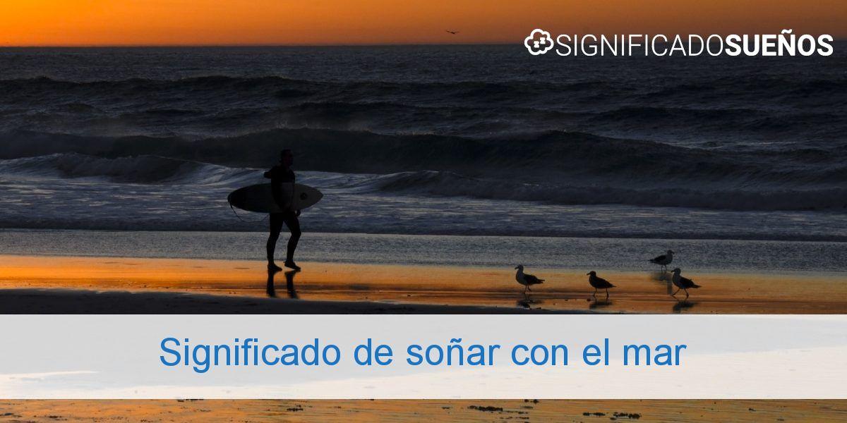 Significado de soñar con el mar