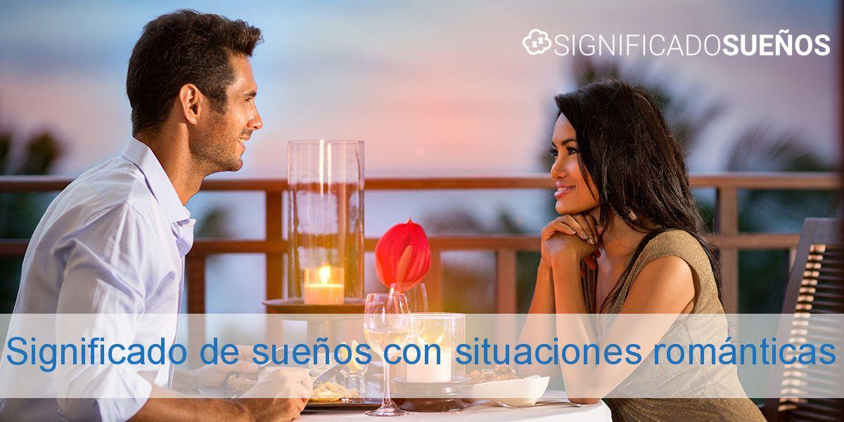 Significado de sueños con situaciones románticas